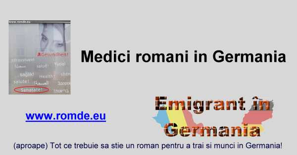 Medici romani in Germania