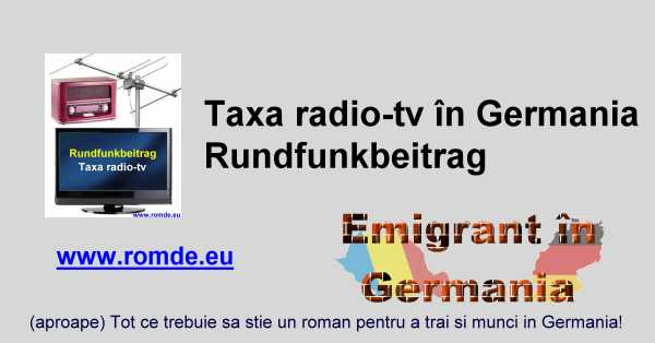 taxa radio-tv in Germania